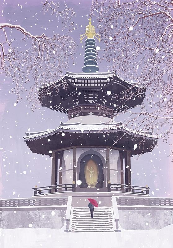 Pagoda in Battersea Park 1