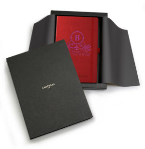 red tucson giftset with digital print