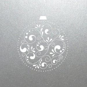 bauble decore silver 1