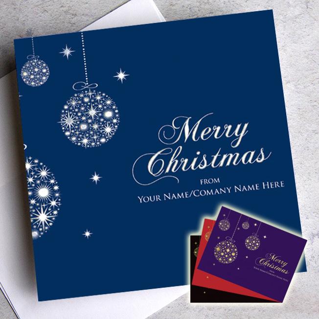 board foil choice christmas cards