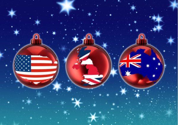christmas flags np
