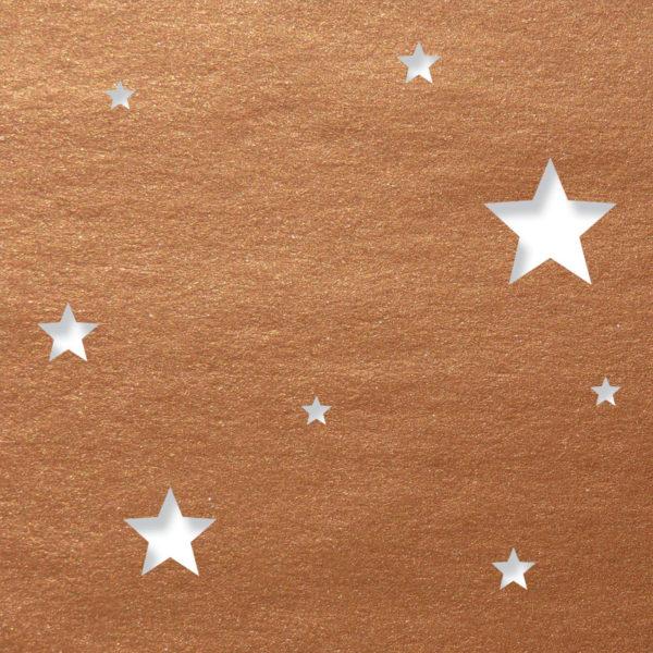 contemporary stars gold