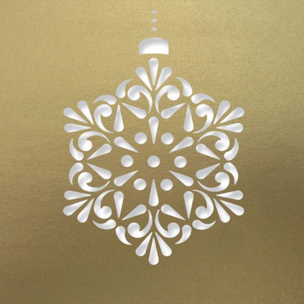 contemprary snowflake antiq