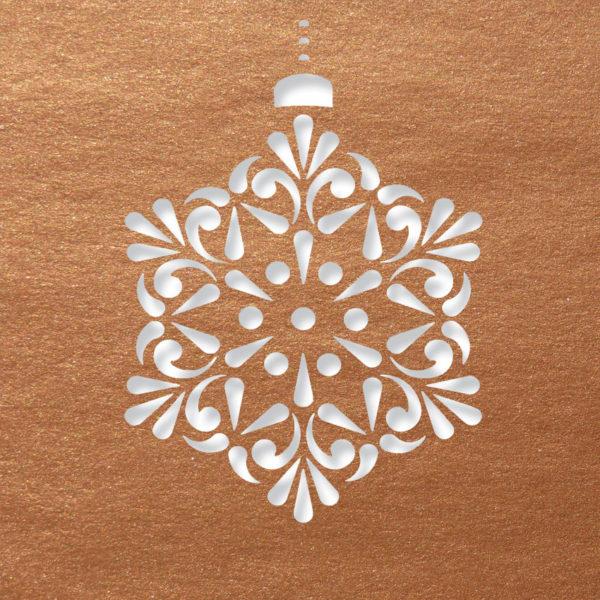 contemprary snowflake coppe