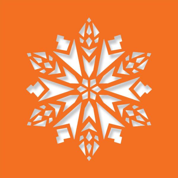 crochet depp orange