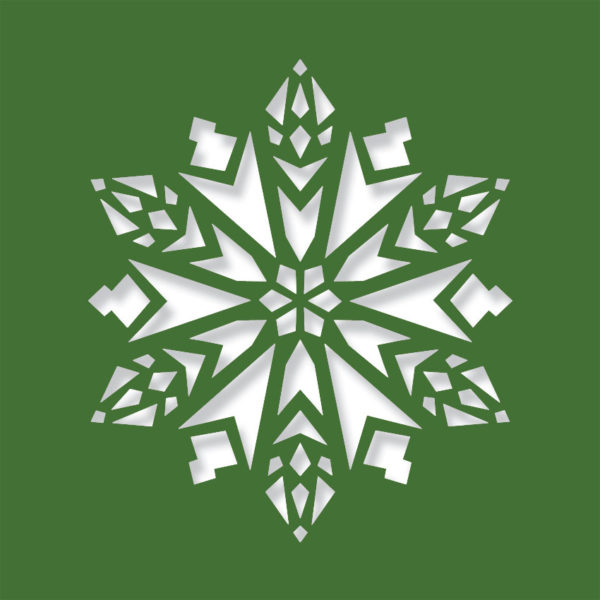crochet evergreen