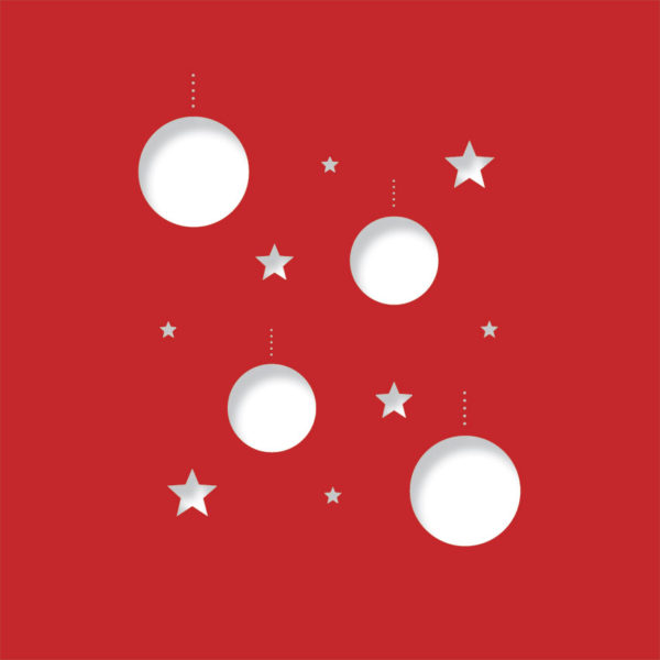disco stars bright red