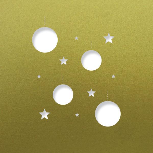 disco stars fine gold