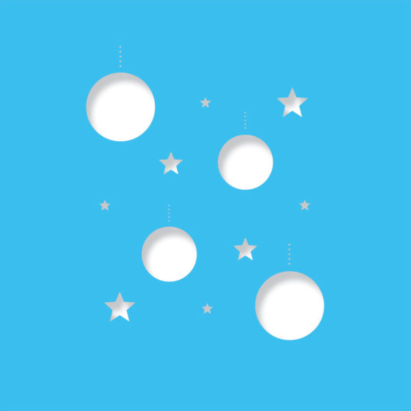 disco stars light blue