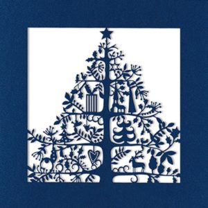 laser christmas tree