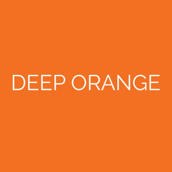 laser cut deep orange