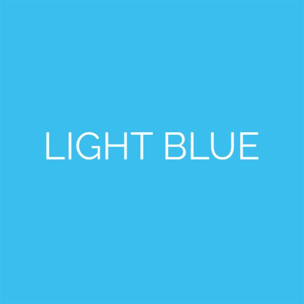 laser cut light blue