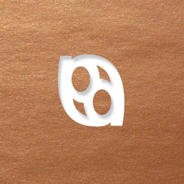 laser logo copper