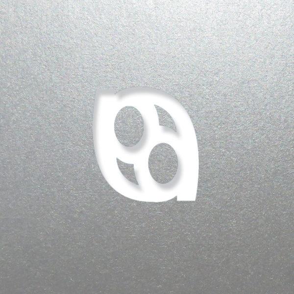 laser logo silver