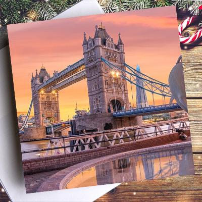 london christmas cards 2