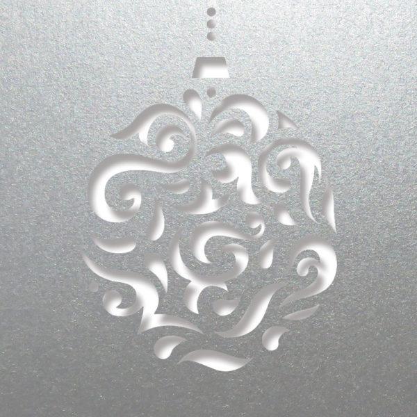 magi bauble silver