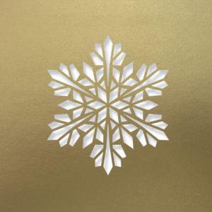 modern snowflake antique go