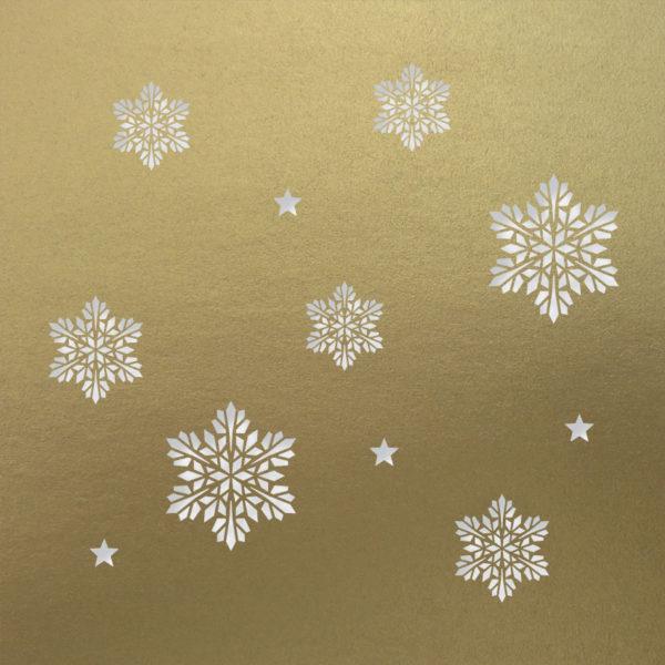 snowflake stars antique gol