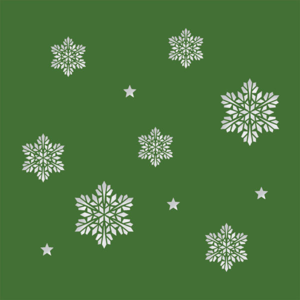 snowflake stars evergreen