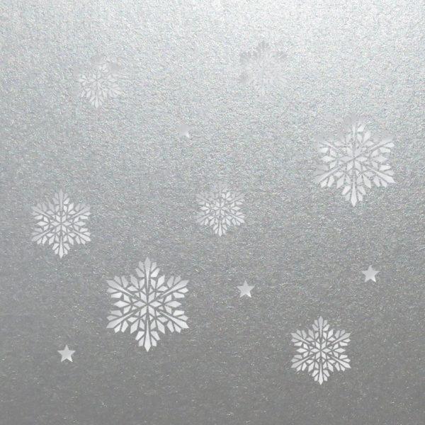snowflake stars silver